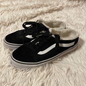 Van's Old Skool Mule Suede Shoes